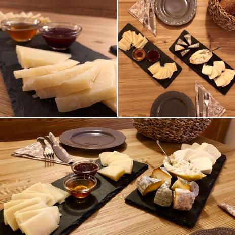 taglieri di formaggi